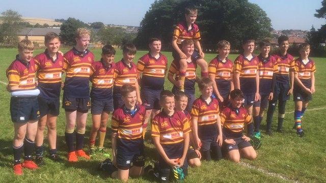 Deeside Rugby Under 14s