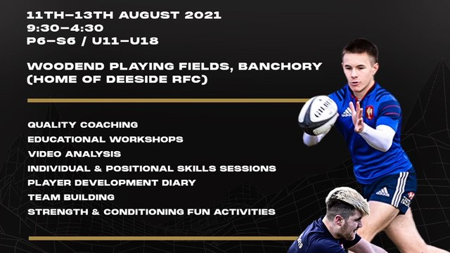 Apex Summer Rugby Camp - book now!