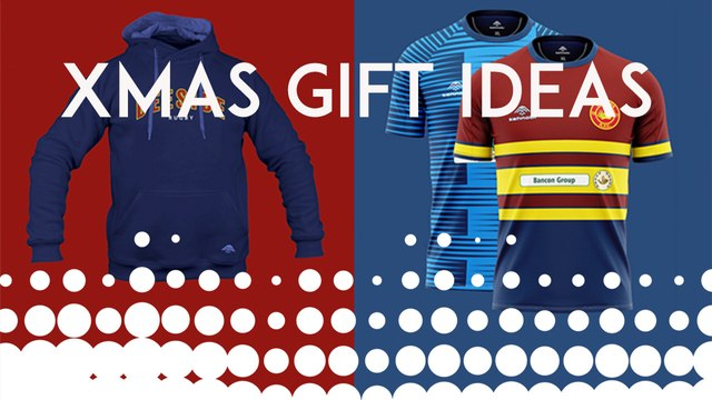 Order your DRFC presents for Xmas now