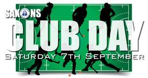 INVITATION: Club Day 2019 - Saturday 7th September 2019