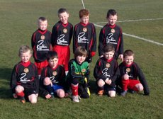 UNDER 8s ENJOY LARNE SOCCER SEVENS