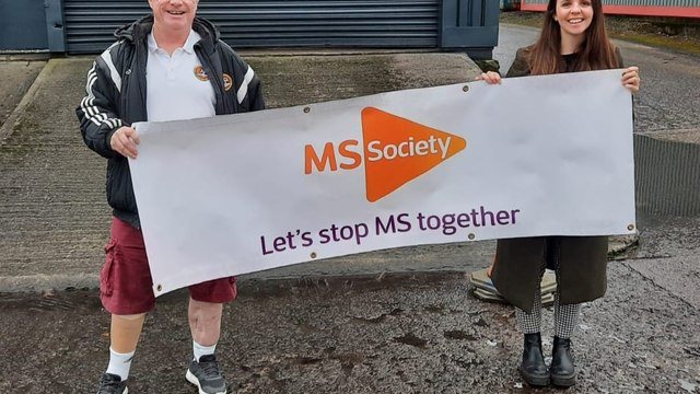 MS SOCIETY CHARITY SUPPORT