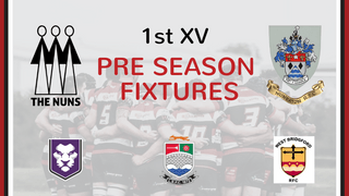Pre Season Fixtures Announced