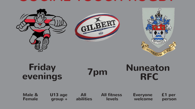 Friday Night Touch Rugby