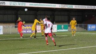 Sussex Senior Cup Langney Wanderers v Selsey Rnd1 3/10/17