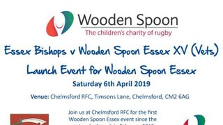 Wooden Spoon Essex launches with charity match vs Essex Bishops