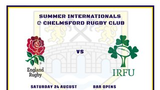 CATCH THE NEXT ROUND OF THE QUILTER INTERNATIONALS AT CHELMSFORD RUGBY CLUB