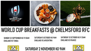 WATCH WEEKEND WORLD CUP MATCHES AT CRFC WITH BREAKFAST