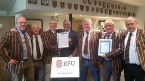 The OWRFC & The Warriors 2018 - A Refection