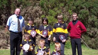 Mini/Youth Rugby Training & End of Season Awards 2018-2019