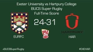 Lessons Learnt as Exeter Suffer First Defeat to Hartpury