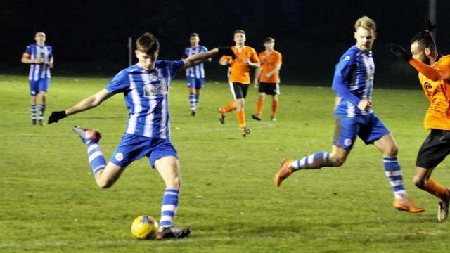Wellington (1) v Clevedon Town (3) - Match Report