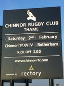 Next 1st XV game at Kingsey Road is versus Rotherham Titans