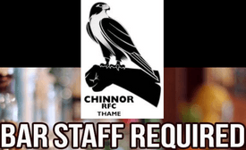 Experienced bar team members required