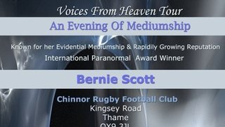 Bernie Scott Evening of Mediumship