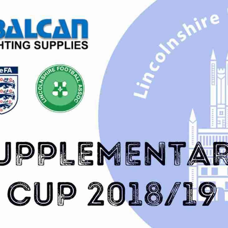 Lincoln Moorlands Railway: Supplementary Cup Champions!