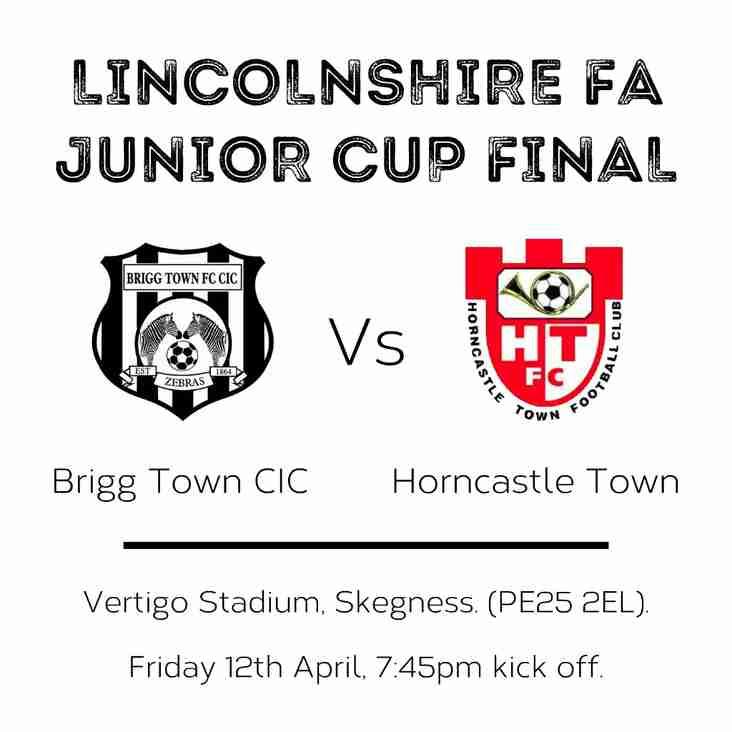 Brigg Town CIC: Lincs Junior Champions!