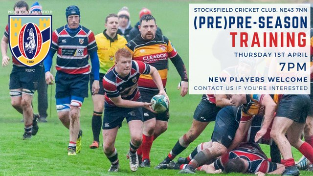 RUGBY IS RETURNING TO STOCKSFIELD!