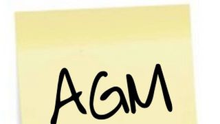Club AGM on June 12th at 8.00pm