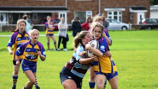 Clevedon U18 girls vs Kingswood 29/9/19