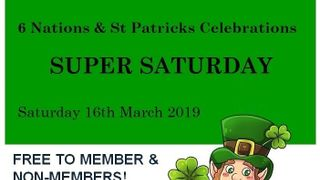 6 Nations & St Patrick 'Super Saturday'