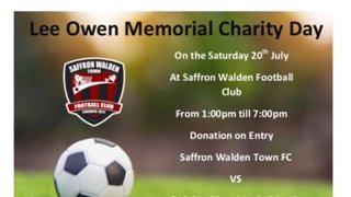 **THIS COMING SATURDAY ** LEE OWEN MEMORIAL DAY SATURDAY 20th JULY CATONS LANE