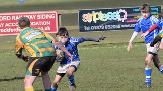 Diss U13's vs Crusaders (at home)