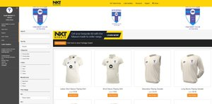 SNCC Club Shop For Juniors/Colts - In Now OPEN!