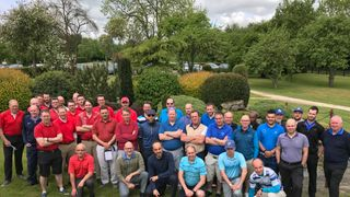 Charity Golf Day Underway