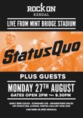 Status Quo LIVE at Kendal Rugby Club - 27 August 2018