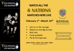 6 Nations Matches