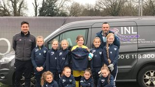 Hampshire Cup Final for the U9 Girls