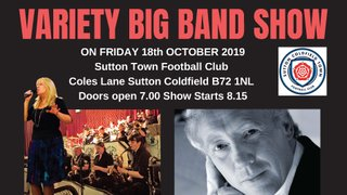 Big Band Variety Night - Friday 18th October