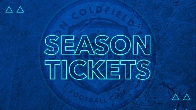 Season Tickets for the 2021/22 Season