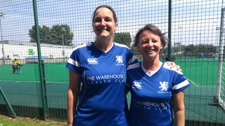 Sally Hall and Gale Black represent Scotland at the Home Counties
