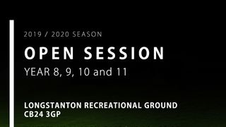 Year 8, 9, 10 & 11 Open Session - Longstanton