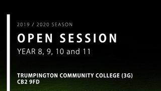 Year 8, 9, 10 & 11 Open Session - Trumpington