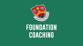 Foundation Football 2019/20 Season | FREE SESSIONS