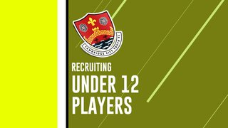 Under 12 Squad Recruiting for more players