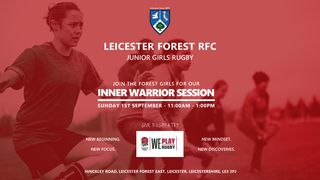 INNER WARRIOR AT LEICESTER FOREST RFC