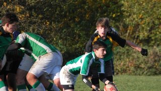 Horsham U16 vs Effingham 18-11-2012