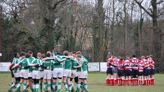 Horsham U16 vs Crowborough 03-02-2013