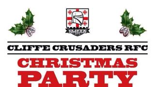 Upcoming Event : Christmas Party Saturday 9th December