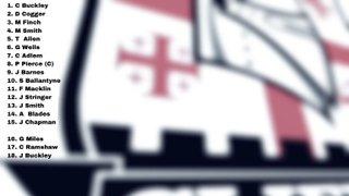 Team announced to face Sevenoaks