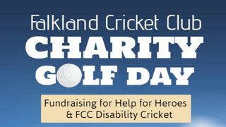 Falkland CC Charity Golf Day 2019 - still time to enter!