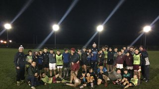 Huge thank you to Port legend Ross Doyle for taking the u14s for a masterclass training session last night.