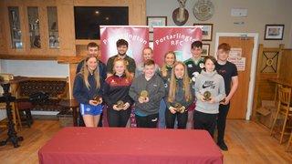 Portarlington RFC held their annual Youth Awards