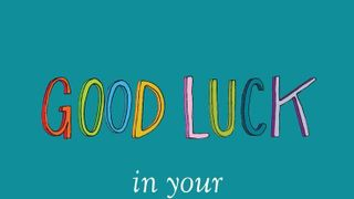 Best of luck in the Junior & Leaving Certs Students