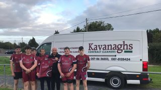 Huge Thank You for the Sponsorship   Kavanagh Contract Cleaners