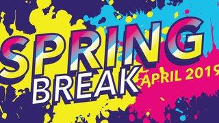 Spring Break - April 2019